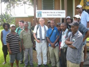 Richard Mackay at Kokoda December 2014